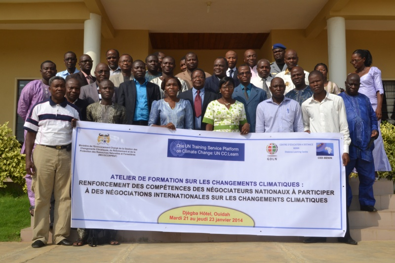 Benin training for climate negotiators