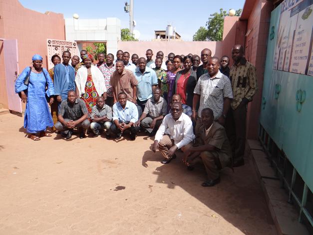 Les participants à l'atelier de Koudougou
