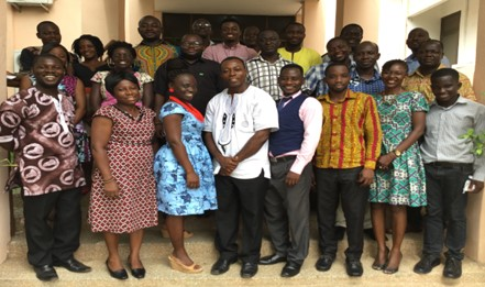 Participants from the Council for Scientific and Industrial Research and CSOs.