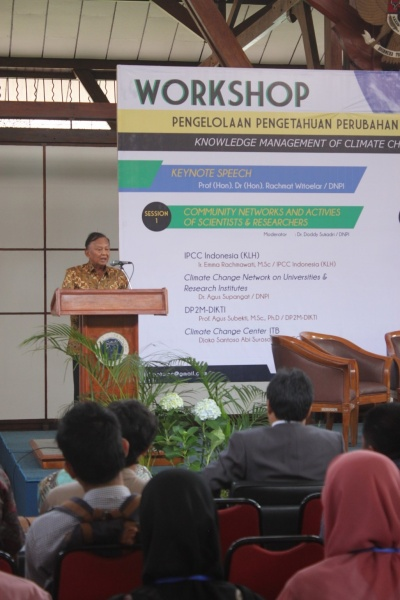 Indonesia workshop on climate change knowledge management