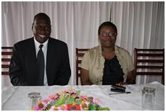 Yona Kamphale, Director of Economic Planning, Ministry of Finance and Development Planning and Yanira M. Ntupanyama, Director of Environmental Affairs, Ministry of Natural Resources, Energy and Environment