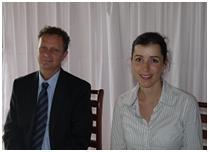 Jan Rijpma, Assistant Resident Representative, UNDP Malawi and Amrei Horstbrink, UNITAR/UN CC:Learn Secretariat