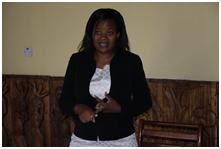 Jane Swira, Project Manager, Ministry of Finance and Development Planning