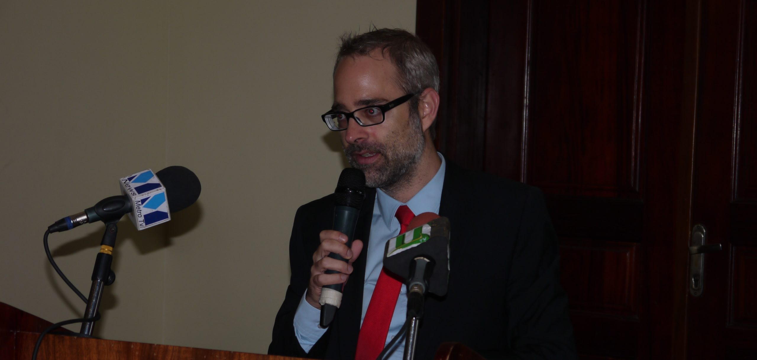 Mr. Matthias Feldmann, Head of Cooperation at the Swiss Embassy in Accra, speaking on behalf of the Ambassador, highlighted that Switzerland itself experienced the power of addressing environmental, social and economic issues by working through schools, u