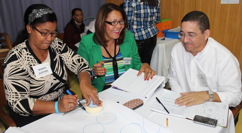 Pilot workshop for the teacher training on climate change, March 2013