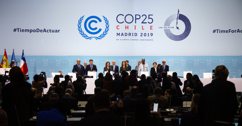 Ceremonia oficial de apertura de la serie de sesiones de alto nivel de la COP 25/CMP