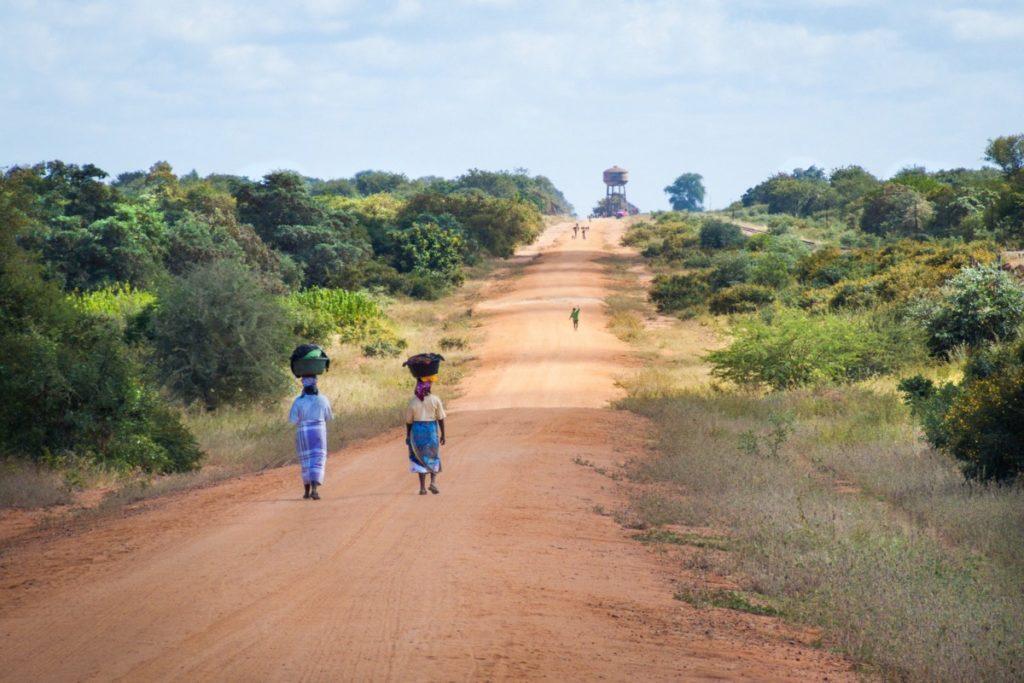 A snapshot of rural Mozambique.